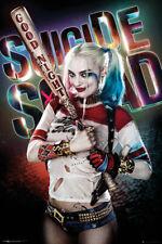Poster Suicide Squad Harley Quinn Good Night Margot Robbie DC Comics