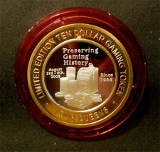"""Hard To Find / Four Queens """"Preserving Gaming History"""" / Red Cap / Las Vegas"""