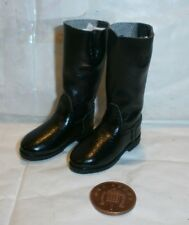 TOYS  CITY German Motorcyclist boots 1/6th scale toy accessory
