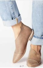 free people shoes 9 40 Royale Flats Grey Leather