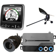 Raymarine i70s System Pack w/Color Instrument & Wind, DST Transducers, iTC-5