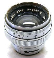 Nikon Rangefinder Camera Lens