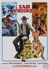 SAM WHISKEY DVD - BURT REYNOLDS - ANGIE DICKINSON