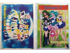 Sailor Moon Chibimoon Pluto Saturn Neptune Anime Set of 2 Poster Rare New Lot