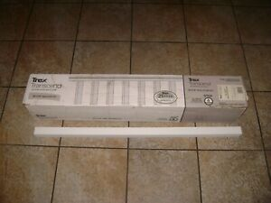 """Box of (16) Trex Transcend 36 3/8"""" Classic White Baluster Kit for 42"""" Rail"""