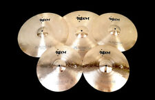 RECH PLATINUM CYMBAL PACK SET 14 16 18 20 SHIP WORLDWIDE MEINL BYZANCE SABIAN