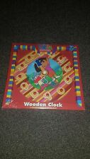 DORA the Explorer Wooden Clock Ages 3+ A Fun Way to Learn the Clock