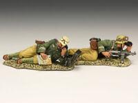 KING & COUNTRY AFRIKA KORPS AK082 WW2 GERMAN AK OBSERVATION TEAM MIB