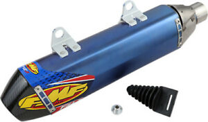 FMF Racing Exhaust Factory 4.1 RCT Slip-Ons Anodized Titanium 045570 Exhaust