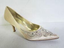 Satin Bridal or Wedding Shoes Standard Width (D) for Women