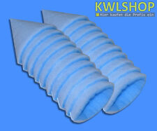 20 Filtre à cône G4 DN 125, 150mm long pour cuisines, Force env. 15-18mm
