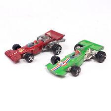 Lot of 2 Vintage YATMING FERRARI n0. 1302 & n0. 1303 vert,rouge JOUET VOITURES