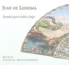 Juan de Ledesma: Sonatas para violin y bajo (CD, Nov-2009, Ram'e)