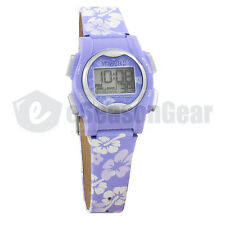 VibraLITE Mini 12 Alarm Small Vibrating Watch for Kids Purple Flower VM-LPL 22