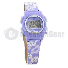 VibraLITE Mini 12 Alarm Small Vibrating Watch for Kids Purple Flower VM-LPL 22