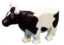 LEGO® Cow - Farm Animal City - White with Black Spots
