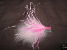 pink fascinator/headpiece, weddings, prom, races