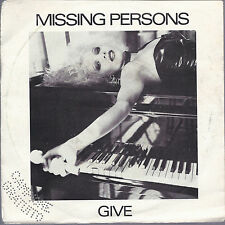 GIVE - CLANDESTINE PEOPLE # MISSING PERSONS - Promo
