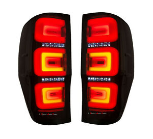 HIGH PERFORMANCE TAIL LIGHT LAMP ( 3D LED SMOKED) for FORD RANGER PX 2011-2020