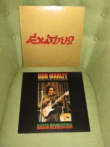 Bob Marley & the Wailers - Exodus & Rasta Revolution vinyl LPs job lot