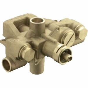 MOEN Moentrol Pressure-Balancing Volume-Control Tub and Shower Valve - 1/2 in.