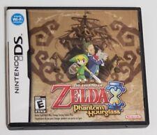 The Legend of Zelda: Phantom Hourglass (DS, 2007) Complete in box CIB