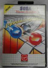 SEGA MASTER SYSTEM GAME - MARBLE MADNESS - NO BOOK