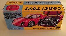 Corgi 314 Ferrari Berlinetta 250 Le-Mans Empty Repro Box