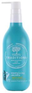 Treets Energising Secrets Hand Wash Cleanser Passion Fruit & Buriti Oil 300ml