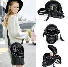 Womens High Quality SKULL DESIGN CROSSBODY BAG Fashion Skeleton Head Handbag