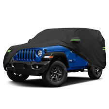 Suv Car Cover Waterproof Oxford Uv Resistant Dust Protection For Jeep Wrangler Fits Jeep