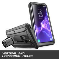 For Samsung Galaxy S9+ Plus SUPCASE [UB Rugged] Shockproof Kickstand Case+Screen