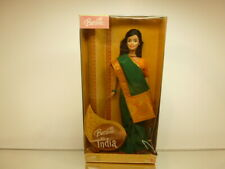 MATTEL 49143 BARBIE IN INDIA - INDIAN BEAUTY IN COLOURFUL SAREES - UNUSED IN BOX