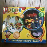 Golden Bear Toys NODDY MEGA TOYLAND House Playset with Toy figures & Cars