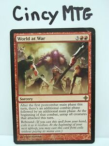 World at War - 1x x1 - Rise of the Eldrazi - ROE - DM - MTG Magic