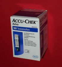 AVIVA Accu-Chek 50 Stueck Sensoren - Teststreifen * vom FACHHAENDLER ROCHE * NEU