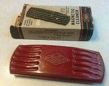 Vintage Stanley Magnetic Cleaner With Original Box And Brush