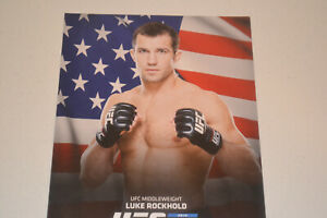 UFC MMA Fmr Champ Luke Rockhold 8.5x11 promo photo