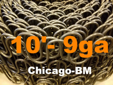 10' Feet 9 gauge  Zig Zag- 9ga Springs Furniture-Auto Upholstery -Made In U.S.A.