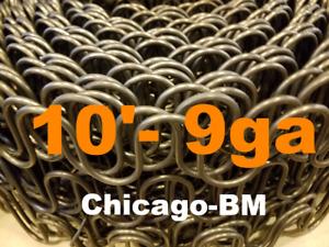 10' Feet 9 gauge  Zig Zag- 9ga Springs Furniture-Auto Upholstery -Made In U.S.A.