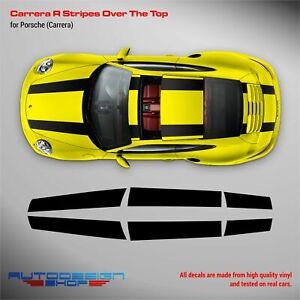 R Stripes Over The Top for Porsche Carrera
