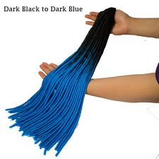 Ombre Synthetic Crochet Twist Braiding Soft Dreadlocks Dread Hair Extension 24""