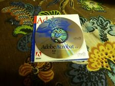 Adobe Acrobat 4.0 CD with KEY