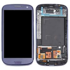 Samsung Galaxy S3  i9300  Schermo LCD + Touch Screen +FRAME Pebble Blue