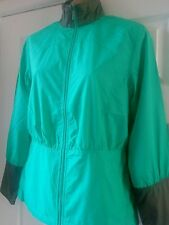BNWT CALLAWAY GOLF LADIES WATERPROOF GREEN GREY SIZE EXTRA SMALL