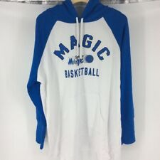 Orlando Magic G III 4Her By Carl Banks Womens Raglan Hoodie Blue White 2XL New