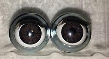 American Girl 1 pair -Decal Brown eyes Ivy- Parts, Repair, custom, tlc