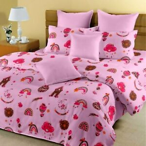 Kids Bedsheet Indian bedding set king Size Bed Set Pillow Covers Birthday Gift