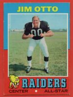 1971 Topps #151 Jim Otto EX-EXMINT+ Hall of Fame Oakland Raiders FREE SHIPPING