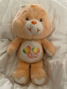 Rare Vintage 80s UK Only Limited Edition Daydream Care Bear w/ Freckles